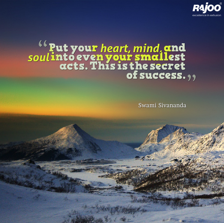 The key to #success!