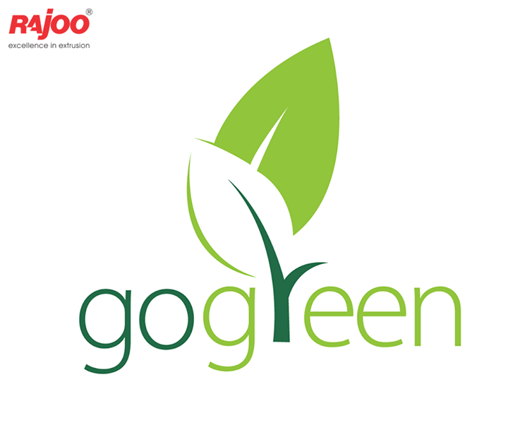 What is that one thing that you have done towards going #Green?  #GoGreen #RajooEngineers #Rajkot