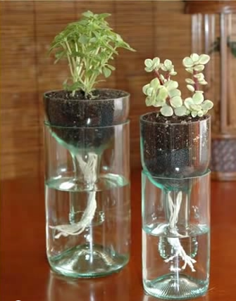 #Reusing #Plastic bottles in an innovative way, yet #useful way!
