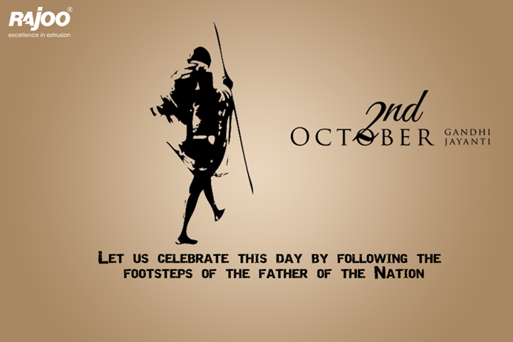Let's follow the path of truth and Ideas that inspires, greetings on #GandhiJayanti !
