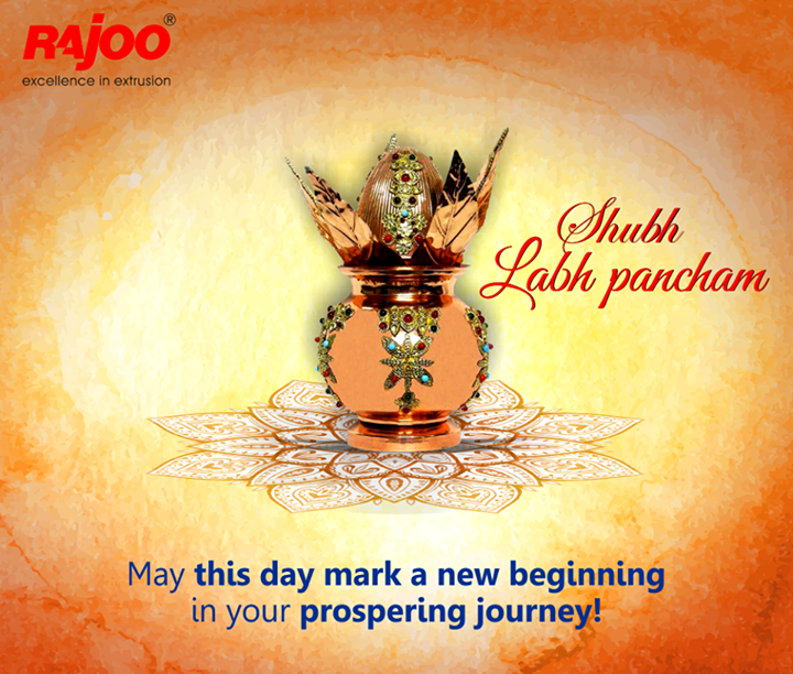 May prosperity enter your lives today and for forever.  #LabhPancham