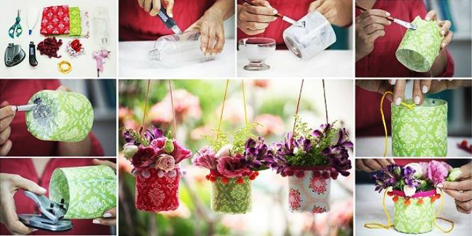 The best way to use up plastic cans!