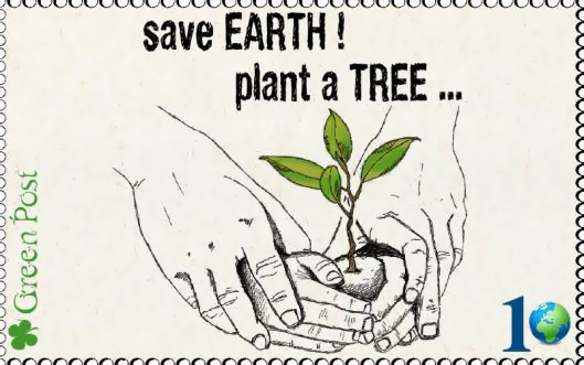 // Plant a tree, save the #Earth //