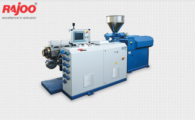 Rajoo offers a wide range of counter rotating twin screw extruders for pipe and profile extrusion systems through a Joint Venture with most reputed pipe and profile extrusion machinery manufacturer in the world Bausano & Figli, Italy.  Read More : www.rajoo.com/Twin_Screw_PVC_Pipe_Plant.html  #RajooEngineers #Rajkot