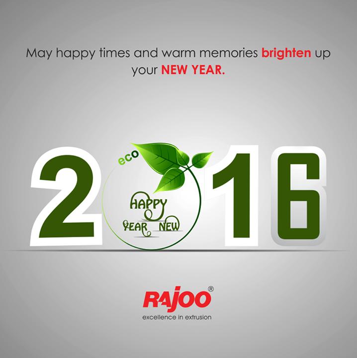 Wishing you a #greener year ahead! #NewYear wishes from Rajoo Engineers Limited,India !