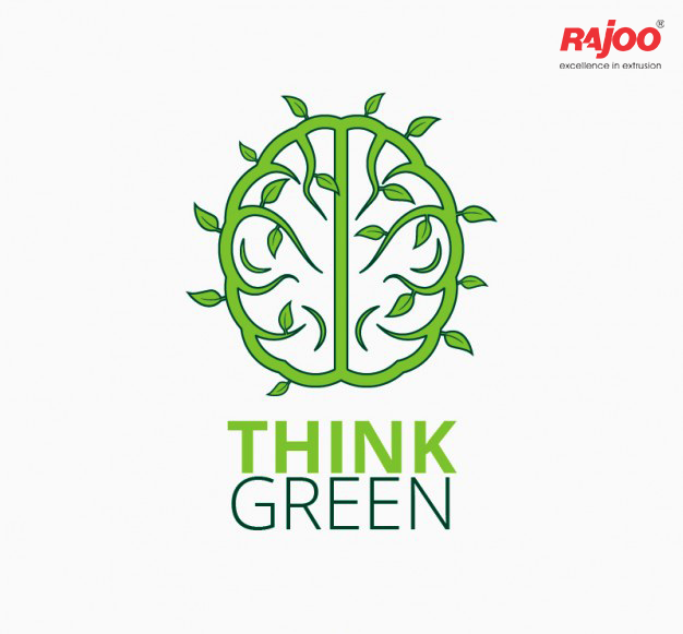 This year, let's #ThinkGreen for a sustainable tomorrow!