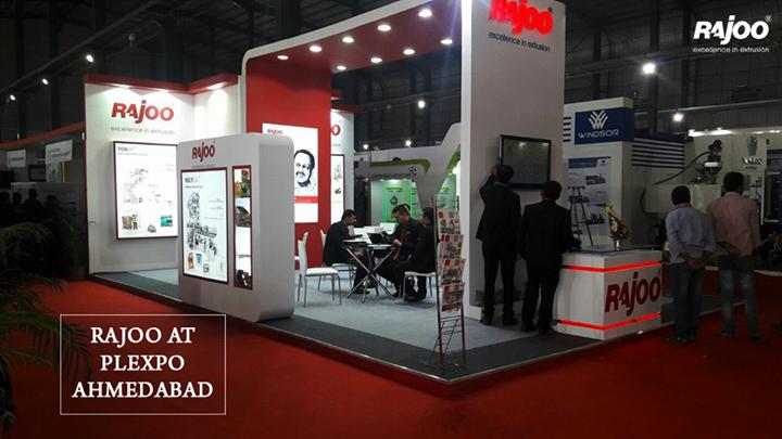 #Exhibitions #RajooEngineers #Plexpo #Ahmedabad
