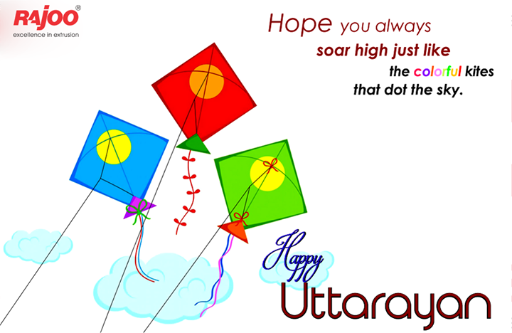On this festive occasion wish your day is filled with sweet surprises.  #HappyUttarayan #RajooEngineers