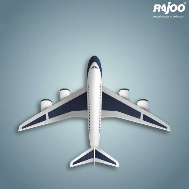 #DidYouKnow  #Plastics are used in numerous aerospace applications to improve safety, reduce costs, save fuel, and improve passenger comfort.  #RajooEngineers #Rajkot