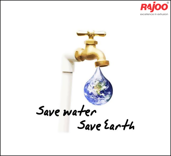 Simple ways to #Savewater can make a big difference.  Play your part, make every drop count.  #RajooEngineers #Rajkot