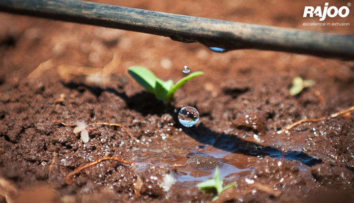 Benefits of Drip Irrigation Systems  -> Has recorded increase in yield up to 230%. -> Saves water up to 70% compare to flood irrigation. More land can be irrigated with the water thus saved. -> Crop grows consistently, healthier and matures fast. -> Early maturity results in higher and faster returns on investment. -> Fertilizer use efficiency increases by 30%. -> Cost of fertilizers, inter–culturing and labour use gets reduced. -> Fertilizer and Chemical Treatment can be given through Micro Irrigation System itself. -> Undulating terrains, Saline, Water logged, Sandy & Hilly lands can also be brought under productive cultivation.  #RajooEngineers #Rajkot