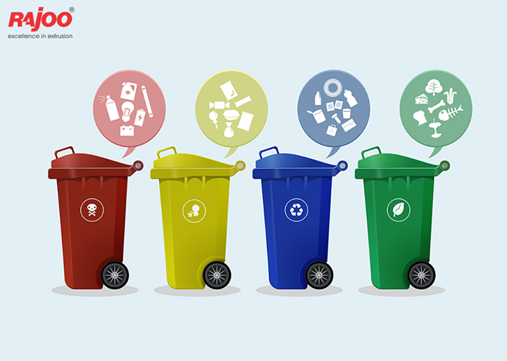 Segregate your garbage and reduce the wastage thrown in the environment.  #RajooEngineers #Rajkot