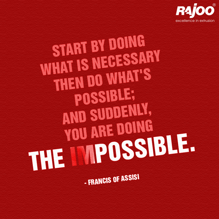 All your #dreams can come true if you decide to never give up! You just have to know that nothing is #impossible and follow your dreams! You will then be able to achieve your #goals.  #MondayMotivation #Inspiration #RajooEngineers #Rajkot