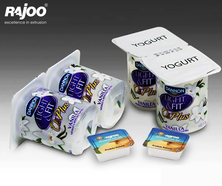 Convenience redefined, gone are the days when Yogurt transportation was a messy affair!. Yogurt packaging simplified with #RajooDispocon.  #RajooEngineers #Rajkot