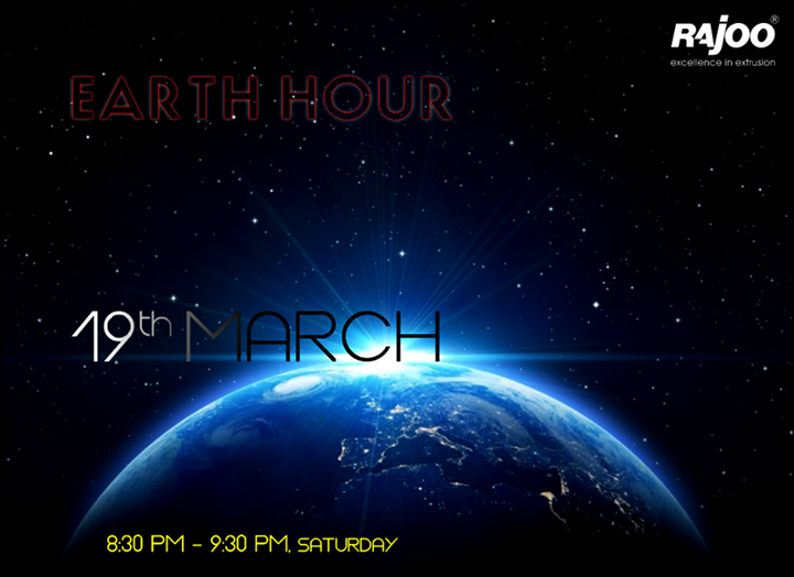 Let's #switchoff for an hour tonight, at 8:30 pm!   #EarthHour2016 #RajooEngineers #Rajkot