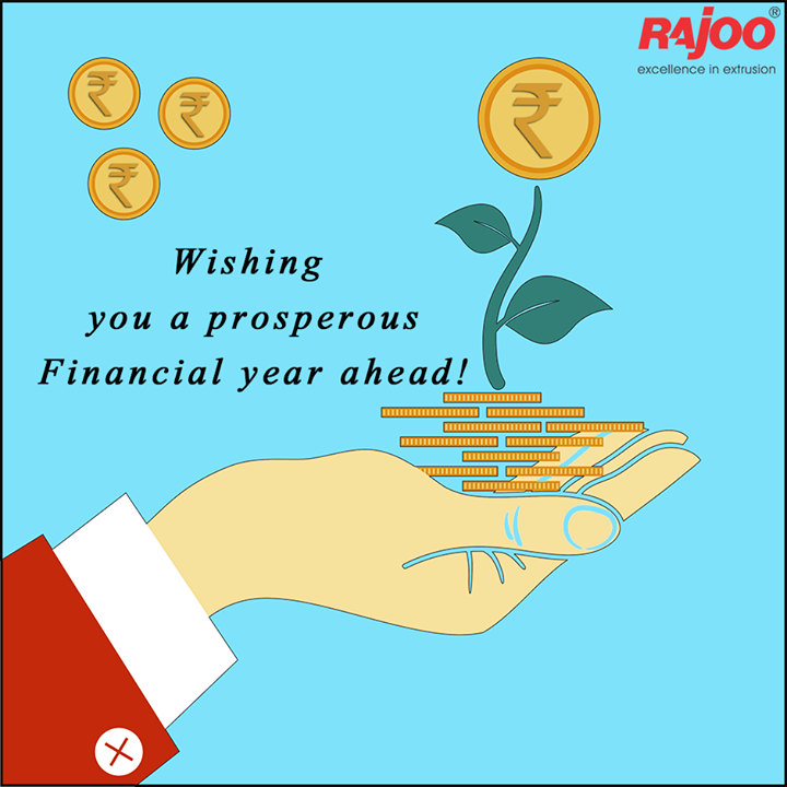Wishing you a prosperous Financial year ahead!  #FinancialYear #RajooEngineers #Rajkot