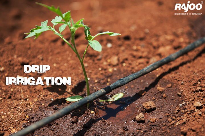 Drip irrigation is a technique in which water flows through a filter into special drip pipes, with emitters located at different spacing. Water is distributed through the emitters directly into the soil near the roots through a special slow-release device. If the drip irrigation system is properly designed, installed, and managed, drip irrigation may help achieve water conservation by reducing evaporation and deep drainage. Compared to other types of irrigation systems such as flood or overhead sprinklers, water can be more precisely applied to the plant roots. In addition, drip can eliminate many diseases that are spread through irrigation water. Drip irrigation is adaptable to any farmable slope and is suitable for most soils. In contrary to commercial drip irrigation, simple self-made systems are cheap and effective.  #DripIrrigation #RajooEngineers #Rajkot