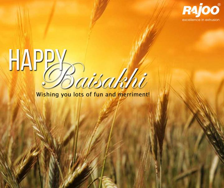 May this Baisakhi bring to you joy, love, prosperity and wealth!  #HappyBaisakhi #FestiveWishes #HarvestFestival #RajooEngineers #Rajkot