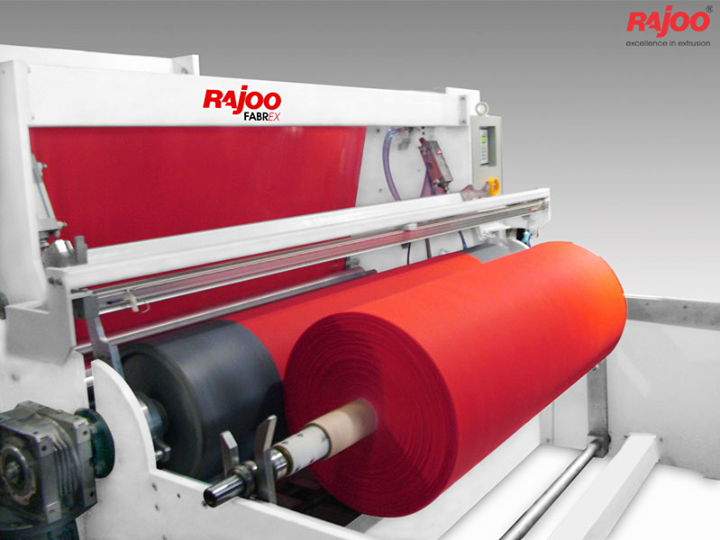 Rajoo pioneered developments in PP Non woven fabric extrusion and has emerged as the only Indian supplier with production capacity ranging from 200 to 500kg/hr and fabric weight range from 12 to 150 gsm depending on applications.  For more Details : http://goo.gl/AxqThM   #RajooEngineers #Rajkot