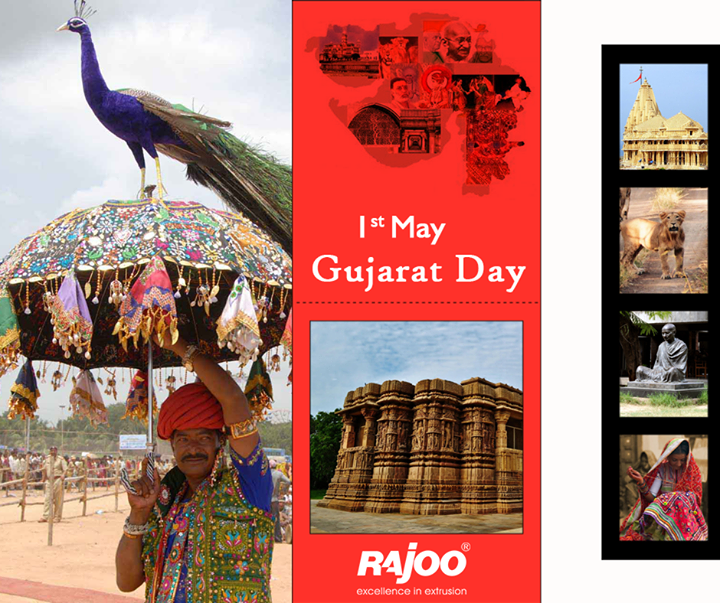 Celebrate #GujaratDay with pride & honour!   #GujaratDivas #GujaratDay #RajooEngineers #Rajkot
