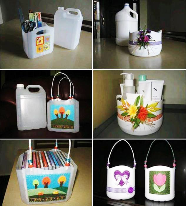 Your #Plastic gallon, can be re-used in a creative way!  #RajooEngineers #ManyUsesofPlastics #Rajkot