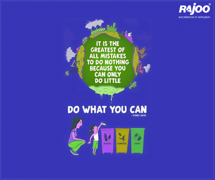 Segregating #waste is not only of environmental importance, but of economic concern too.  Are you doing your bit?   #Ecofriendly #Recycle #RajooEngineers #Rajkot