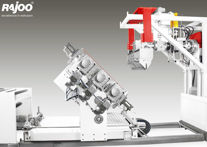 LAMINA series of sheet lines are designed for absolute ease of operation and are available in a host of configurations to suit individual customer's requirements with output ranging from 110 kg/hr to 1000 kg/hr, width ranging from 540 mm to 1400 mm, in single to five layer configuration for processing various polymers like PS, PP, PE and PET.  Read More : http://goo.gl/0K25nQ   #RajooEngineers #Rajkot