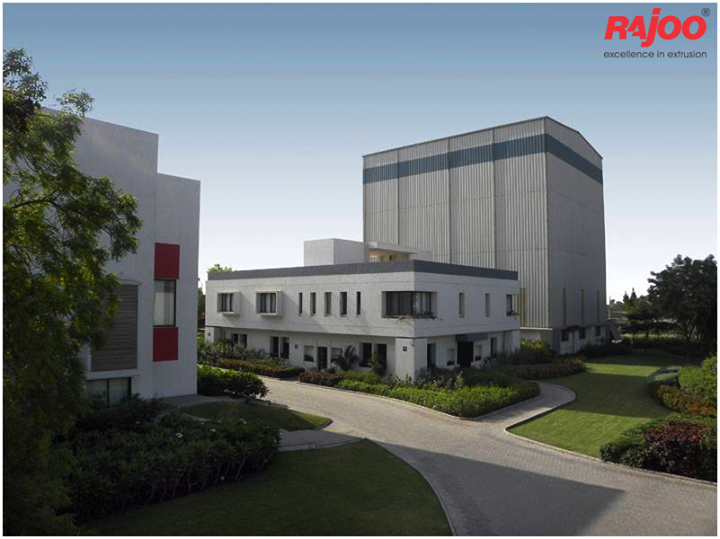 #Rajoo's state-of-the-art design and manufacturing facilities in sprawling green acres and built-up area of 20,000 sq. mts. are located on the outskirts of #Rajkot, Gujarat, one of the most industrious and vibrant states of #India, famous for its engineering skills.