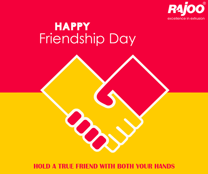 Rajoo Engineers Limited,India wishes you all a #HappyFriendshipDay!