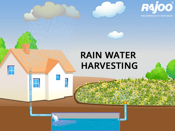 Rainwater harvesting is the accumulation and deposition of rainwater for reuse on-site, rather than allowing it to run off.  #Rain #Monsoon #RainWaterHarvesting #RajooEngineers #Rajkot
