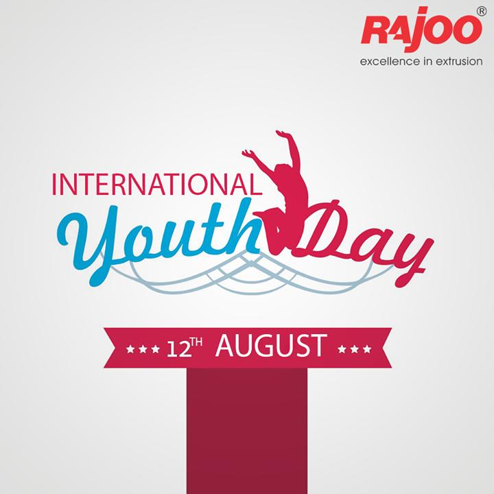 Youth are the dreamers of tomorrow.  #InternationalYouthDay #YouthDay #RajooEngineers #Rajkot