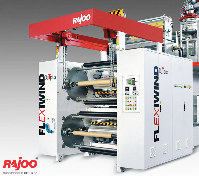 AQUAFLEX blown film lines are downward extrusion water quenched universal application film lines to produce various combinations of PP and PE grades tailored to customer's specific requirements.   Read More : http://goo.gl/CY2vVD  #RajooEngineers #Rajkot