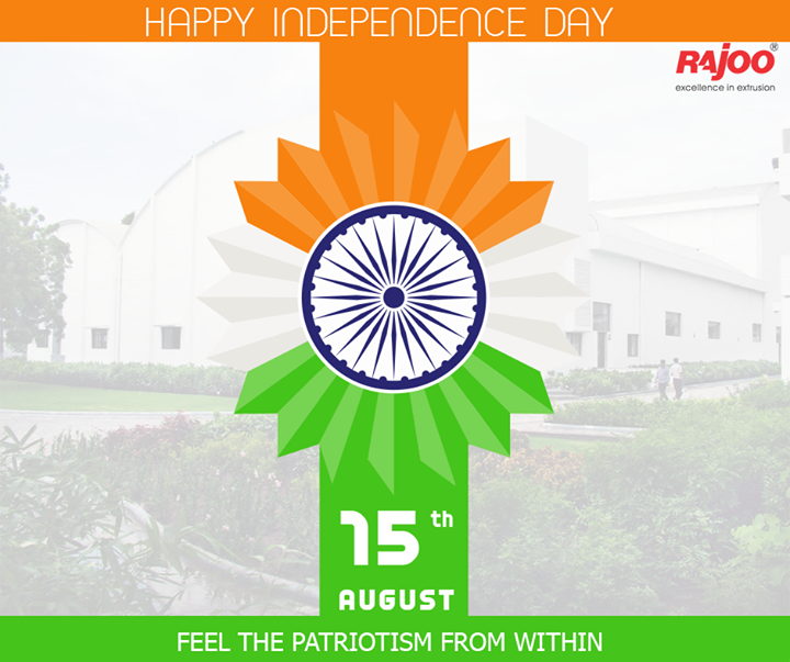 Let's value the #freedom! #IndependenceDay wishes from Rajoo Engineers Limited,India !