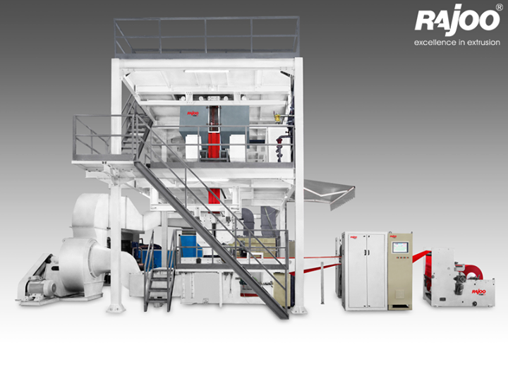 Rajoo pioneered developments in PP Non woven fabric extrusion and has emerged as the only Indian supplier with production capacity ranging from 200 to 500kg/hr and fabric weight range from 12 to 150 gsm depending on applications.  Read More : http://goo.gl/Fj5jiT  #RajooEngineers #Rajkot
