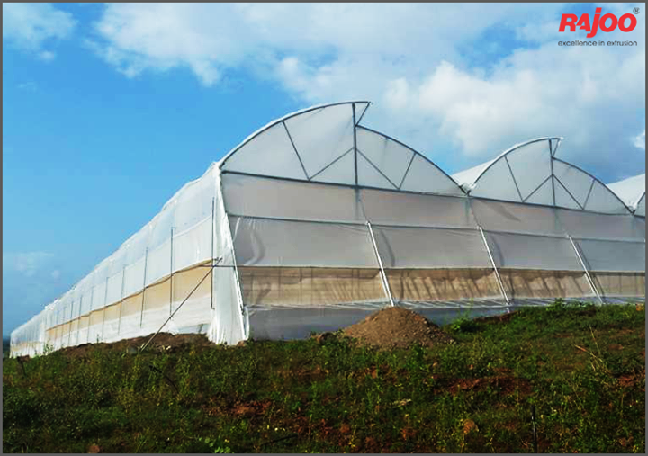 #Didyouknow -   A greenhouse consists of a frame made of wood, metal or plastic that is covered with a transparent or translucent material to allow in light. The walls might be opaque. A fan is usually included to increase air circulation and keep temperatures even.  #Greenhouse #Facts #RajooEngineers #BetterEnvironment