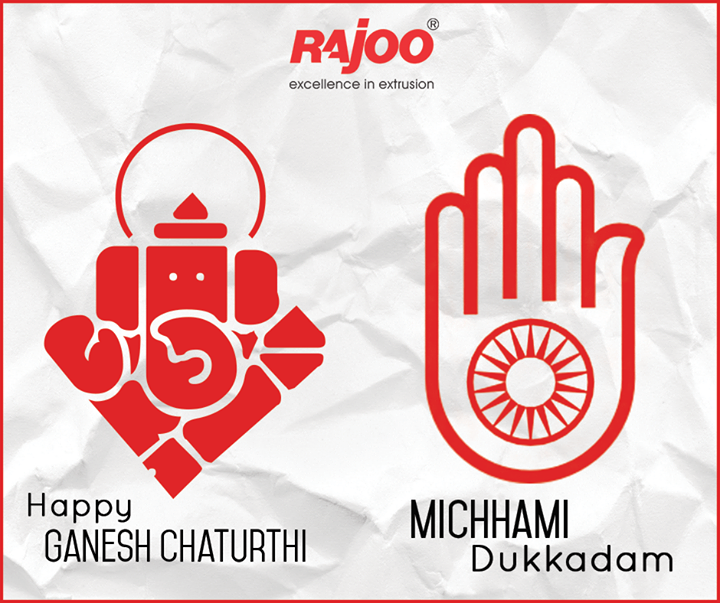 Festive wishes on the occasion of #GaneshChaturthi & #samvatsari from Rajoo Engineers Limited,India !