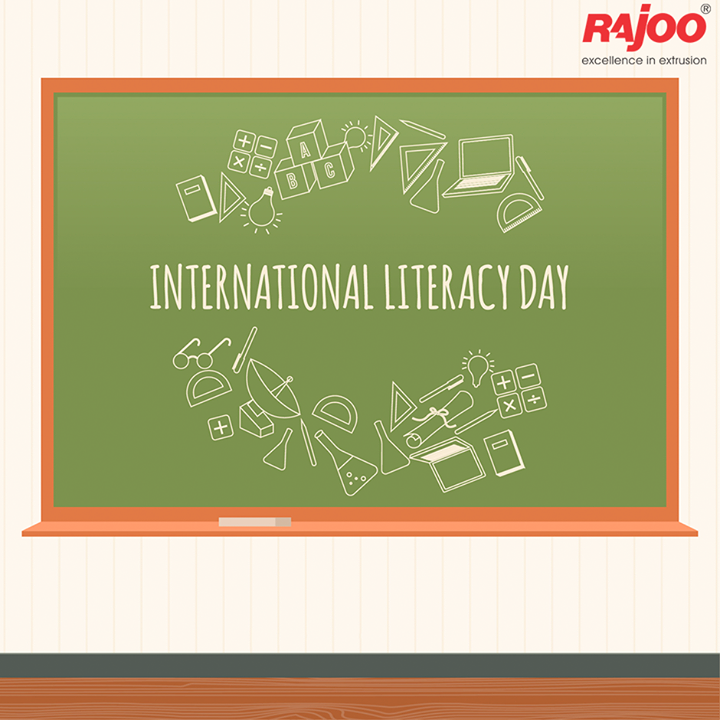 #Literacy is one of the most important thing we can do for future generation.  #InternationalLiteracyDay #RajooEngineers #Rajkot