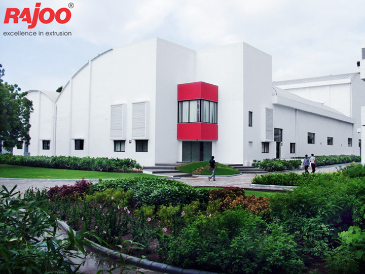 #Rajoo's state-of-the-art design and manufacturing facilities in sprawling green acres and built-up area of 20,000 sq. mts. are located on the outskirts of #Rajkot, Gujarat, one of the most industrious and vibrant states of #India, famous for its engineering skills.  #RajooEngineers #Rajkot