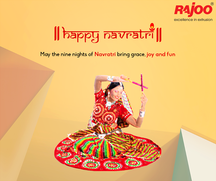 As the celebration of nine auspicious days begins today, we wish this #Navratri bring happiness and prosperity to your home.  #HappyNavratri #Rajkot #IndianFestivals