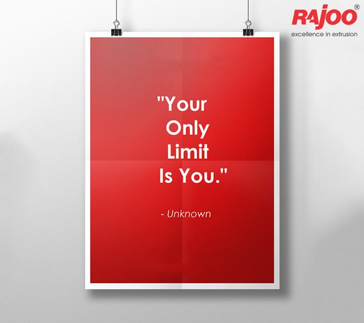Believe you can!  #MotivationMonday #WiseWords #RajooEngineers