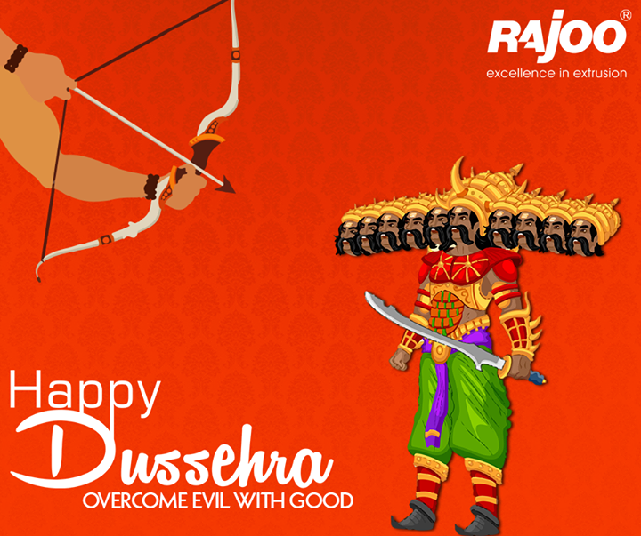 May this Dussehra, light up for you the hopes of Happy times, and dreams for a year full of smiles!  #HappyDussehra #RajooEngineers #Rajkot