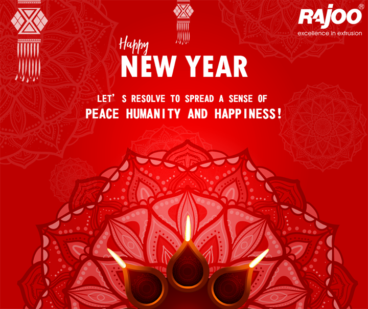 May the coming year be gleeful and glowing always! #HappyNewYear  #FestiveWishes #HappyNewYear #NewYearWishes #Diwali #IndianFestivals #RajooEngineers #Rajkot
