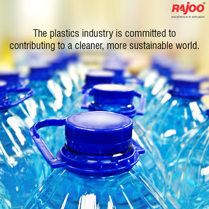 The plastics industry is committed to contributing to a cleaner, more sustainable world. People concerned with protecting the environment should know that plastics contribute to energy efficiency, resource conservation and waste reduction. Get the facts and debunk some myths you may have heard about plastics and the environment.  #PlasticsAndTheEnvironment #RajooEngineers #Rajkot