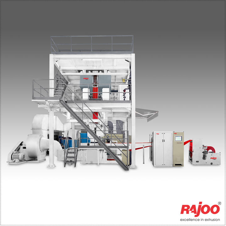 Rajoo pioneered developments in PP Non woven fabric extrusion and has emerged as the only Indian supplier with production capacity ranging from 200 to 500kg/hr and fabric weight range from 12 to 150 gsm depending on applications.  Read More: https://goo.gl/ONFaji  #RajooEngineers #Rajkot