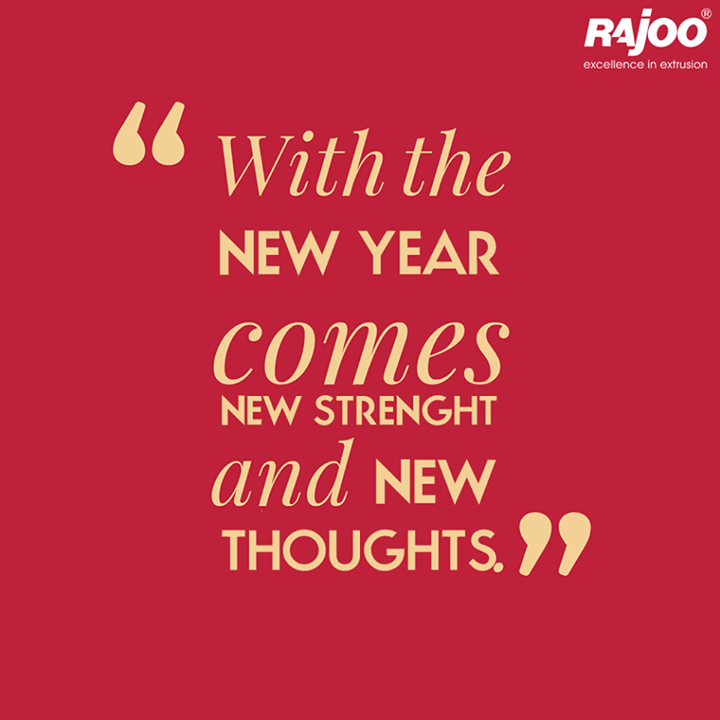 This New Year again gives you more opportunities to explore new avenues.  #MotivationMonday #WiseWords #RajooEngineers