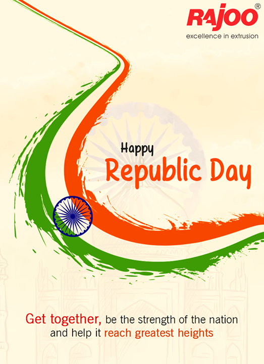 #RepublicDay wishes from Rajoo Engineers Limited,India!  #HappyRepublicDay #Rajkot #IndianRepublicDay