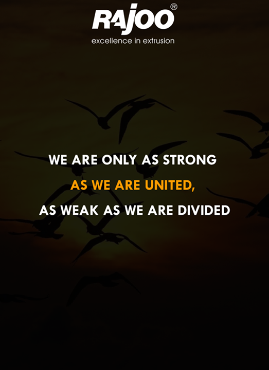 Teamwork makes the dream work.  #WiseWord #RajooEngineers #Rajkot