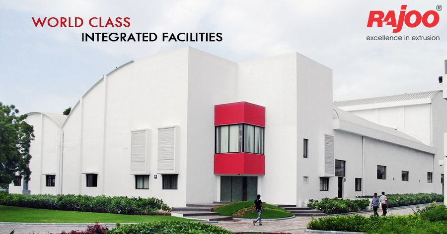 Rajoo's contemporary design and manufacturing facilities in sprawling green acres boasts of world-class integrated facilities inclusive of design office, tool-room, die shop, metal treatment shop, fabrication shop, paint shop, assembly shop and testing shop.  #RajooEngineers #Rajkot