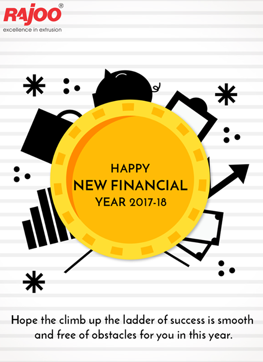 Hope the climb up the ladder of success is smooth and free of obstacles for you in this year.   #NewFinancialYear #FY201718 #RajooEngineers #Rajkot