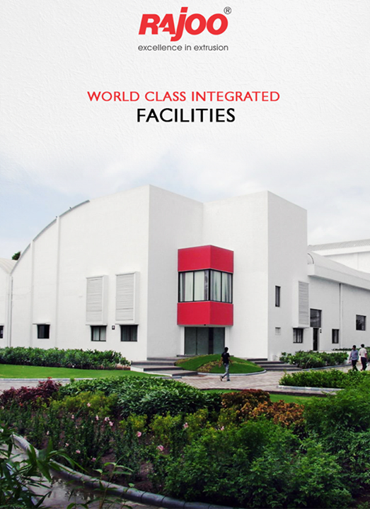 Rajoo's state-of-the-art design and manufacturing facilities in sprawling green acres and built-up area of 20,000 sq. mts. are located on the outskirts of Rajkot, Gujarat, one of the most industrious and vibrant states of India, famous for its engineering skills. World-class integrated facilities comprise design office, tool-room, die shop, metal treatment shop, fabrication shop, paint shop, assembly shop and testing shop.     #RajooEngineers #Rajkot